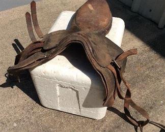 Old English Saddle