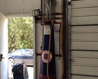Wayne Visible Gas Pump Humble Gasoline Globe and Decal