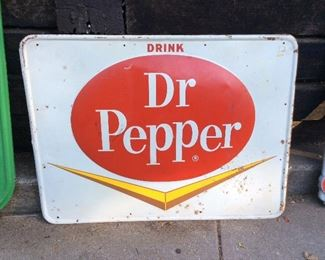 Large Dr Pepper signs