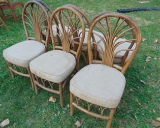 Bent Wood Chairs (6)