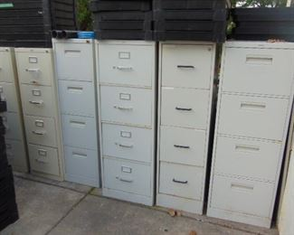 File Cabinets (most with keys)