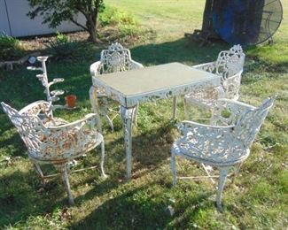 Cast Iron Furniture