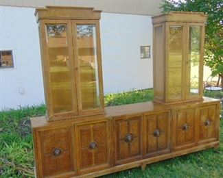 Unique China or Curio Cabinet