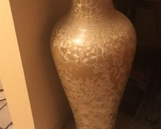 pair of very tall vases