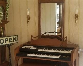 small size electric organ ( not working) $25 and you must bring help to move this item
