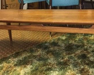 Mid Century coffee table, unmarked.