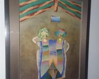Price Cut - $175 - Original watercolor 30x36