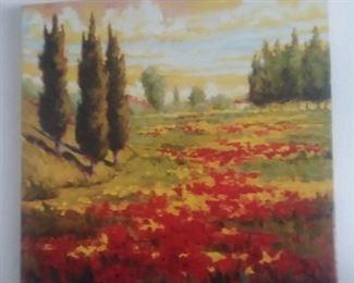 Price Cut - $25 - Colorful Canvas print 24x24
