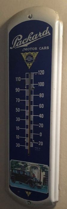 Packard Advertising Thermometer
