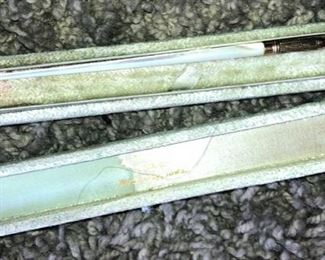 Antique Mother of Pearl and Gold Fountain Pen