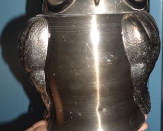 Mid Century Owl Cookie Jar