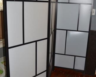 Japanese Modern Style folding Screen, 1 of 2