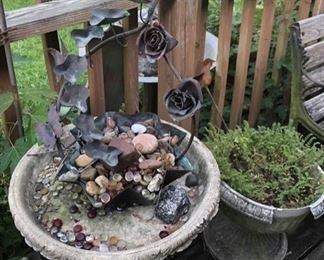 Bird Bath, Concrete
