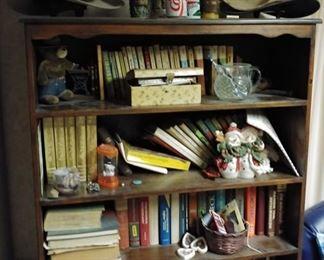 Bookcase, Stetson Cowboy Hats