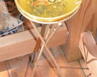 Mid cEntury Smoke Ash Tray Stand