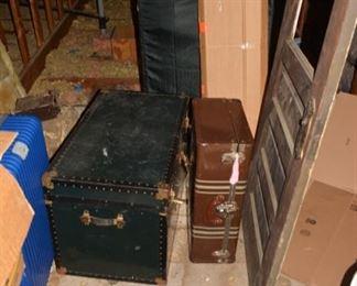 Antique Trunks, Antique Door