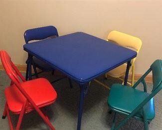 Kids Table Set