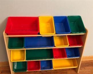 Kids Storage Shelf