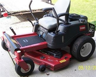 Toro MX5050 zero turn lawn mower (113 hrs.  - great condition)