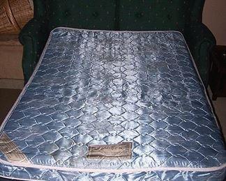 Sleeper love seat open
