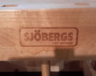 Sjobergs Workbench with 2 Trestles