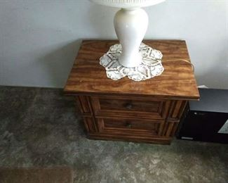 Bed stand with 2 drawers