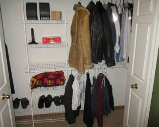 Clothing, jackets and shoes