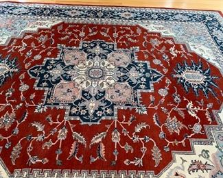 BEAUTIFUL NEW WOOL RUG $450