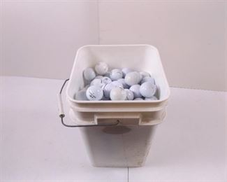 Large Lot of Used Golf Balls