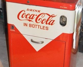 Coca-Cola Top Loading Vending Machine