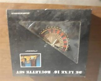 "Deluxe Roulette Set 16"""