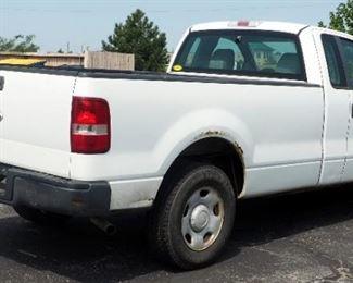 2007 Ford F-150 Pickup Truck, 202,973 Miles, VIN # 1FTRF12WX7KC61373