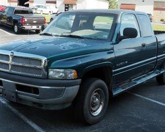 1999 Dodge Ram Pickup Pickup Truck, 192,296 Miles, VIN # 3B7HF12Y3XG176153