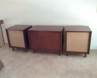Beautiful Retro Stereo System