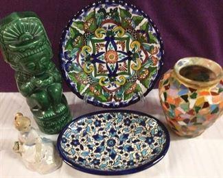 Spanish Style Decor: Talavera Artisan Plate & More https://ctbids.com/#!/description/share/235693