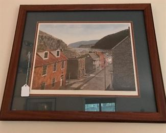 Harpers Ferry signed print