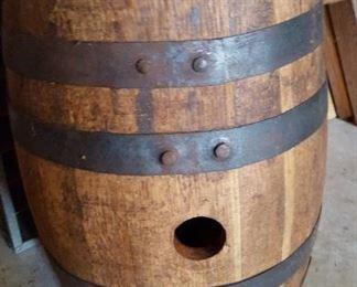 Wooden keg and spigots