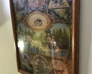 Carriage classic print