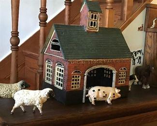 Cast iron farm set