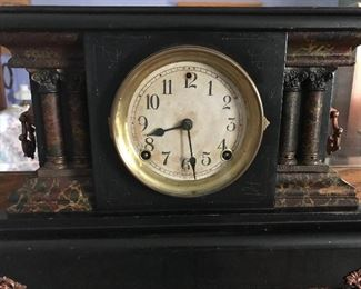 Old mantle clock