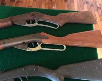 BB Guns including old Red Ryder