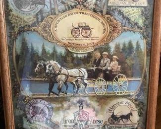 Carriage memorabilia