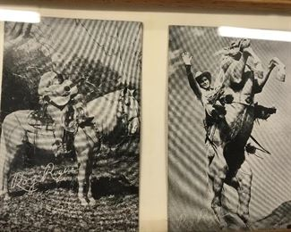 Roy Rogers post cards