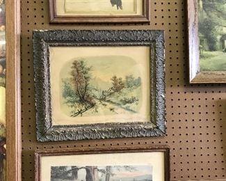 Nice selection of vintage artwork