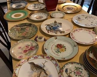 lots of collector plates