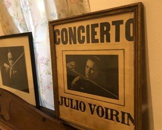 this is the estate of julio voirin violinist