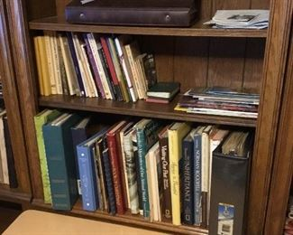 Books,  cookbooks, pamphlets and picture albums and vintage books