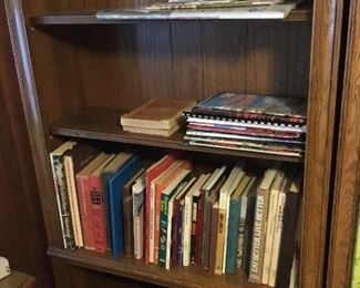 Books,  cookbooks, pamphlets and more