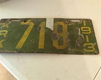 1913 AR license