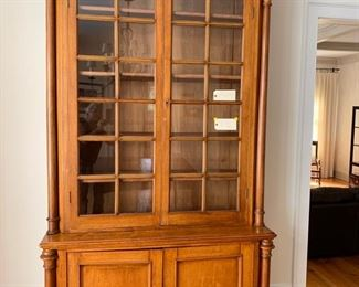 MAGNIFICANT ANTIQUE HUTCH $750.00
